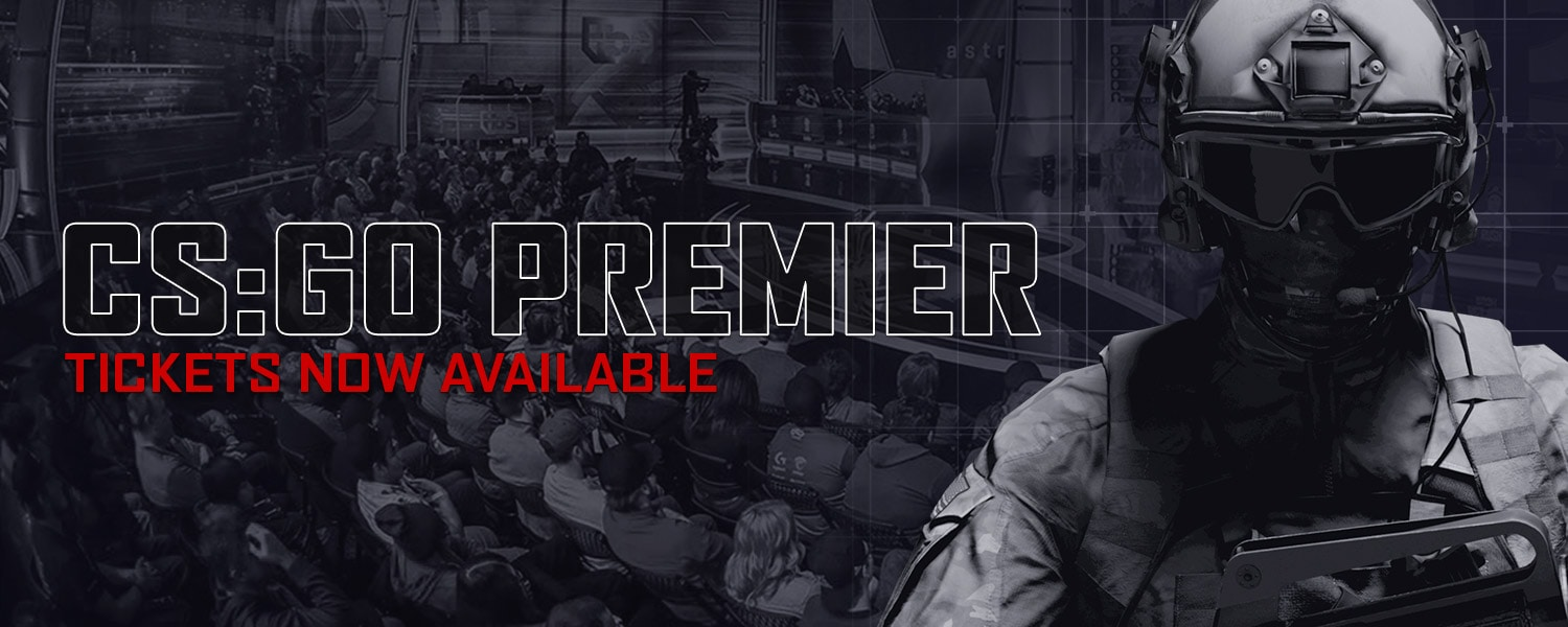 CS:GO Premier Tickets