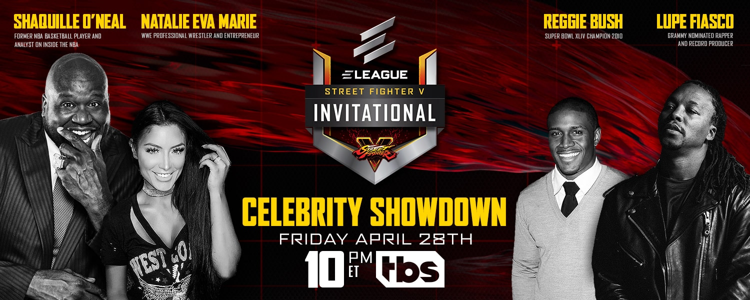 Street Fighter V Celebrity Showdown