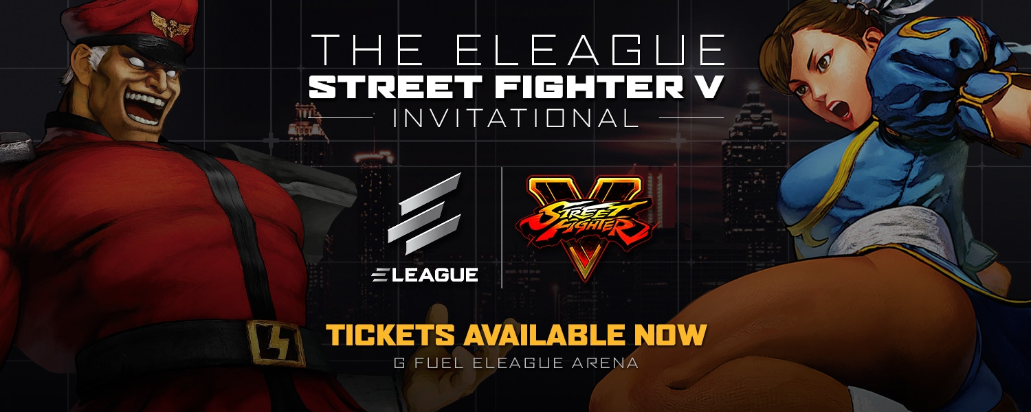 Street Fighter V Tickets