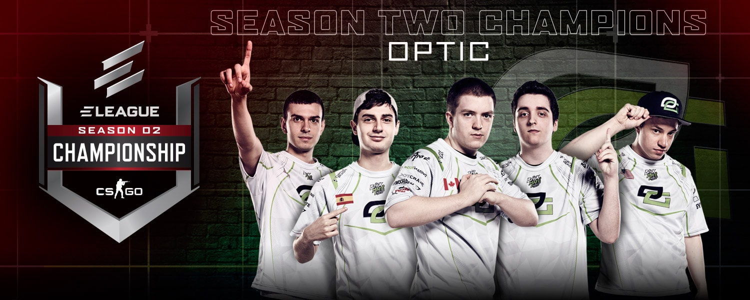 ELEAGUE Season 2 Champs Optic