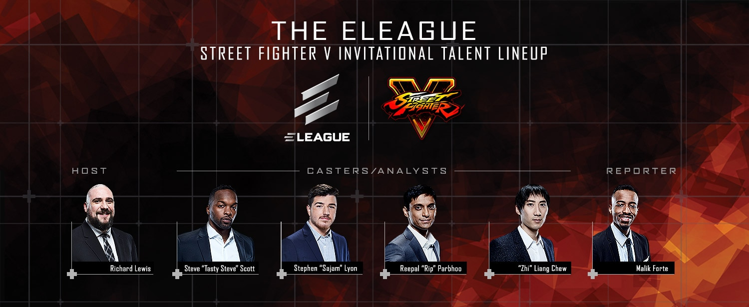 Street Fighter V Talent