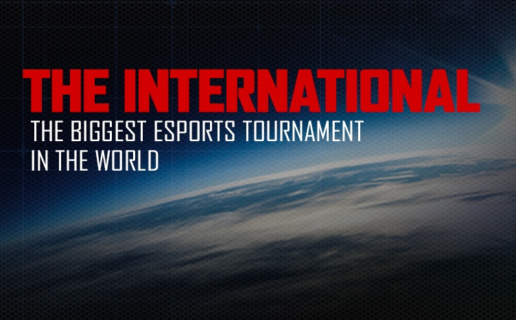 the international, biggest esports tournament